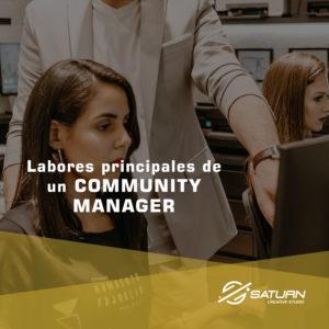 Labores principales de un Community manager