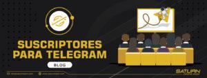 Crea tu comunidad con suscriptores para Telegram